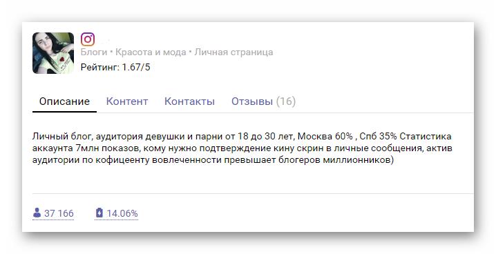Сервисы для проверки статистики блогеров